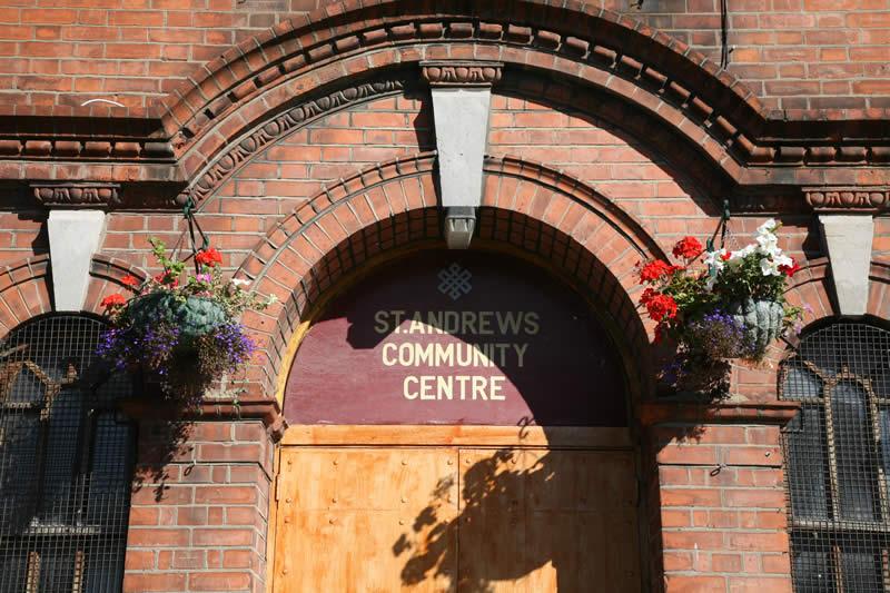 St Andrew's Community Centre. Photo: Chris Maguire