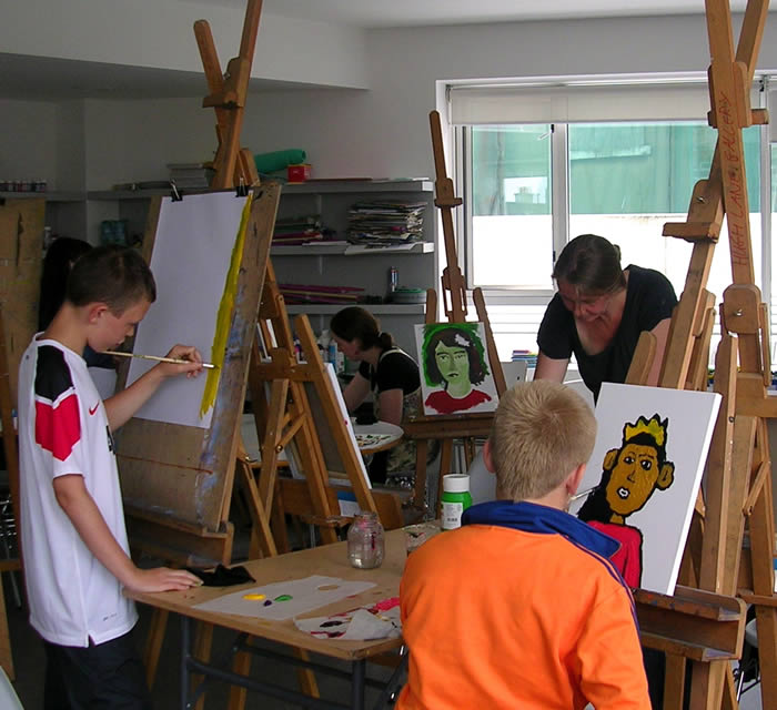 Rialto Youth Project Visual Arts Programme