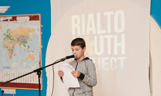 Rialto Youth Project Book Launch